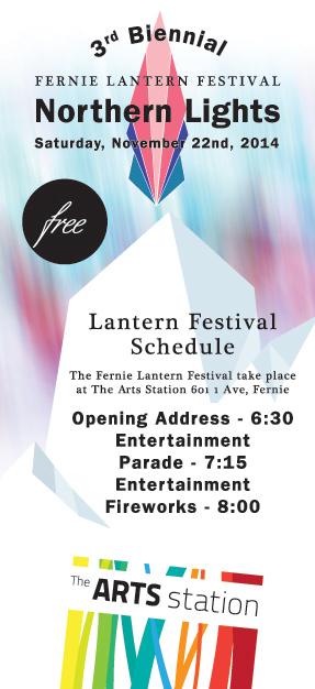 lantern festival - fernie - schedule