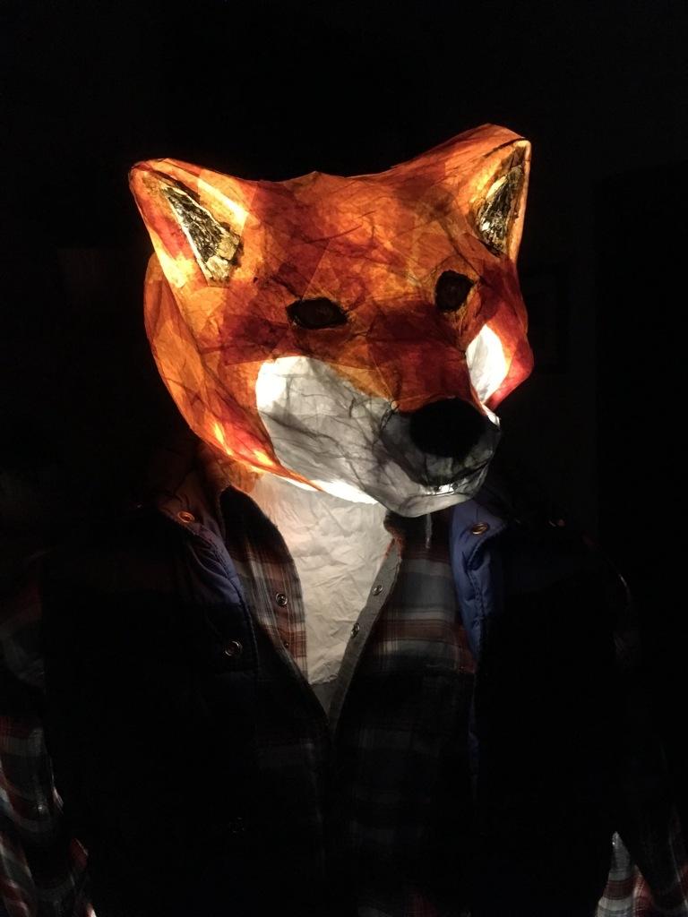 Into The Woods - Fernie Lantern Festival 2016 - Fox Head